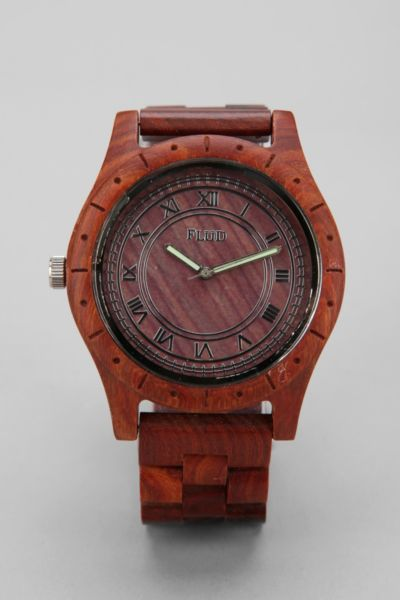 Flud Big Ben Wood Watch