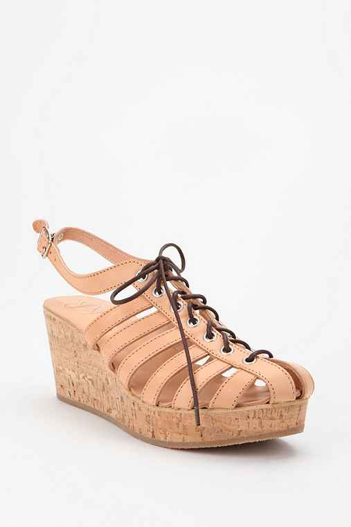 Swedish Hasbeens Cork Wedge
