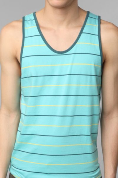 BDG Allover Yarn-Dyed Stripe Tank Top