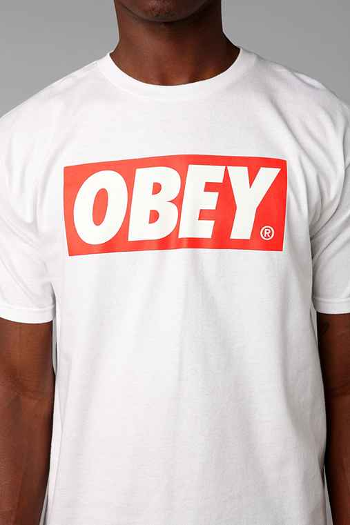 OBEY Bar Logo Tee