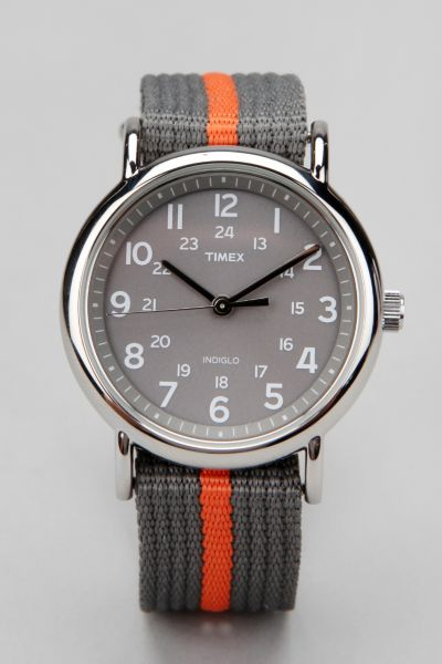 Timex Striped Band Weekender Watch