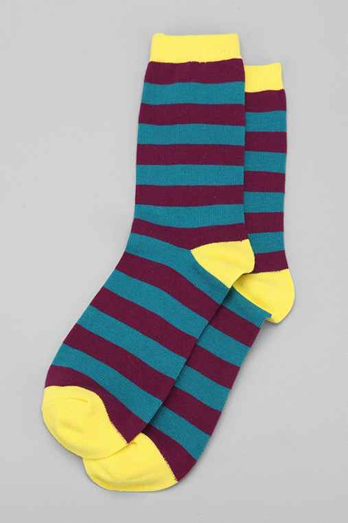 UO Whoa Stripe Sock