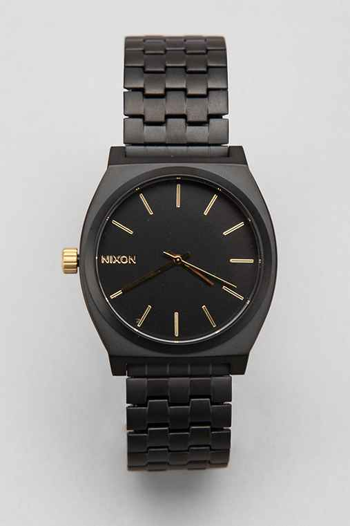 Nixon Metal Time Teller Watch Urban Outfitters