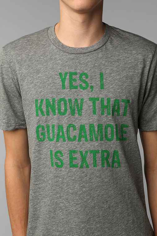 Local Celebrity Extra Guacamole Tee