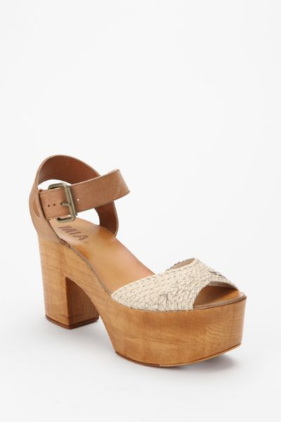 Mia Braided Quarter Strap Heel