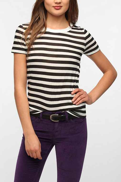 BDG Stripe Crew-Neck Tee