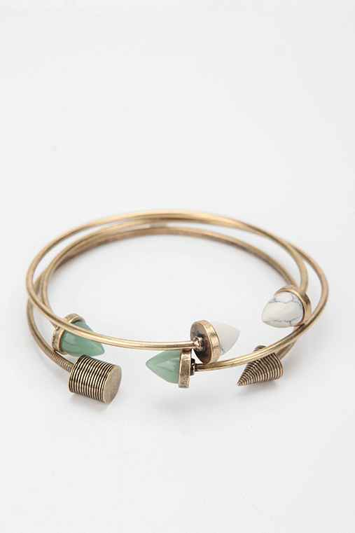 Archaeology Bangle Bracelet - Set of 3