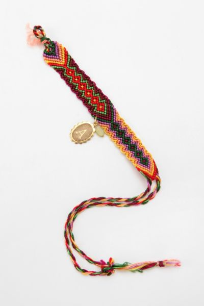Initial Coin Friendship Bracelet