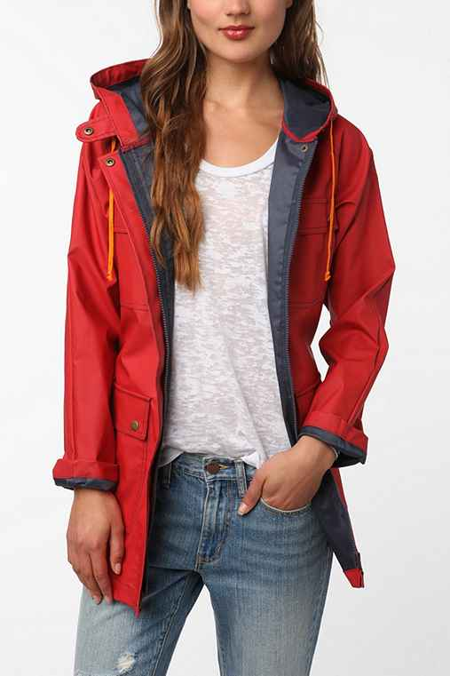 BDG Rain Jacket - Urban Outfitters