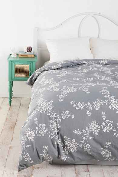 Vine Flower Duvet Cover