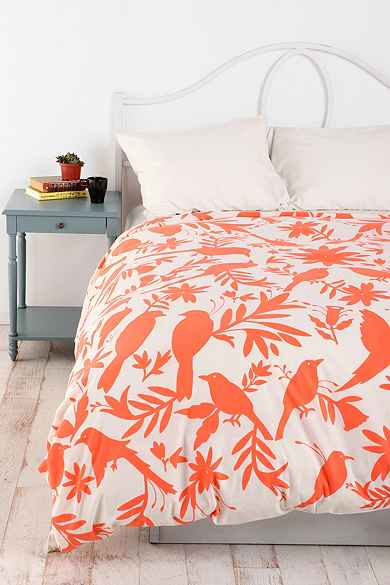 Scenic Birds Duvet Cover