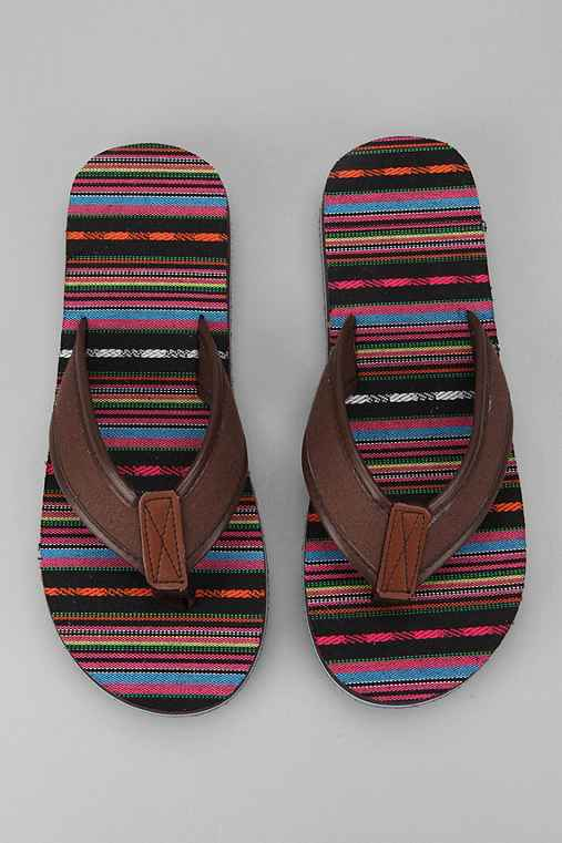 Fabric Footbed Flip Flop