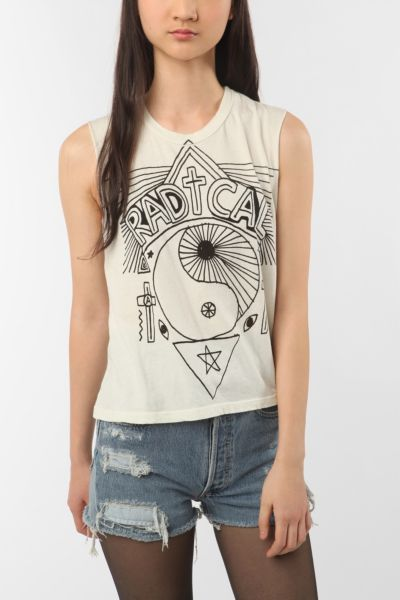 Truly Madly Deeply Rebel Muscle Tee