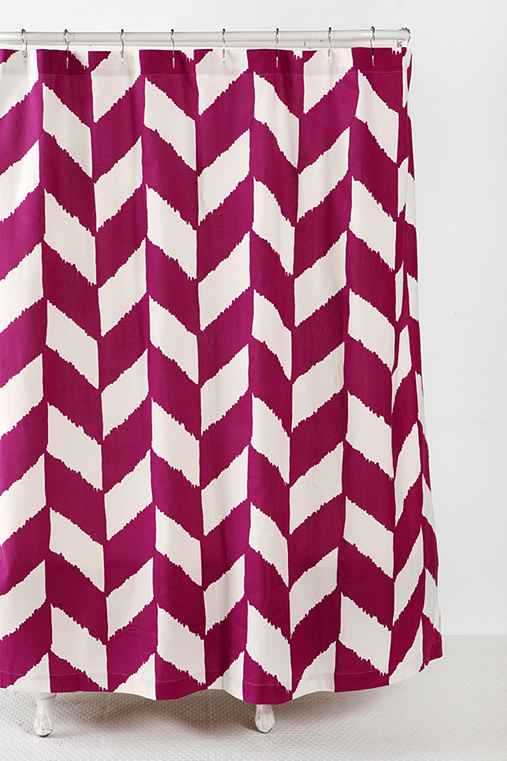 Thumbnail image for Herringbone Shower Curtain