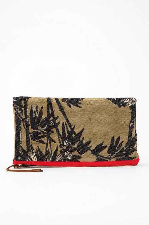 Curatorial for Urban Renewal Large Printed Clutch