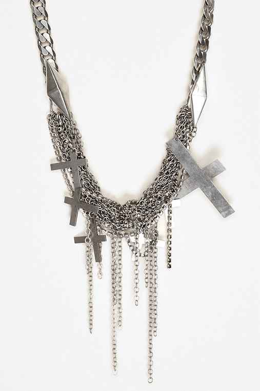 Marmen Cross Necklace
