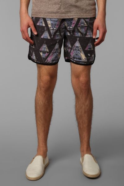 The Critical Slide Society Tee Pee Swim Trunk
