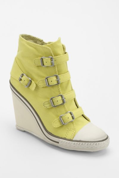 Ash Thelma Canvas Wedge-Sneaker