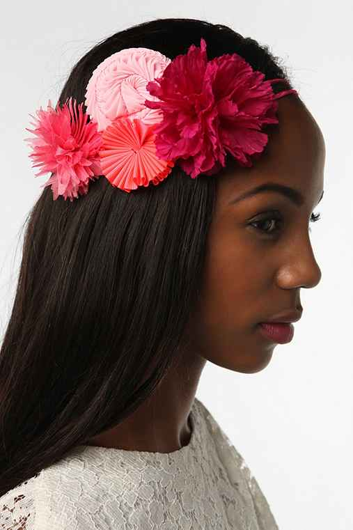 Marina Callis Multi Flower Clavel Headwrap