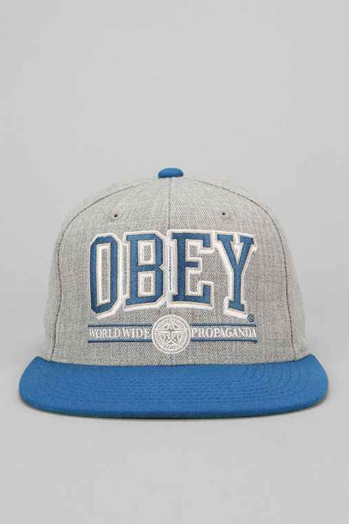 OBEY Athletics Snapback Hat