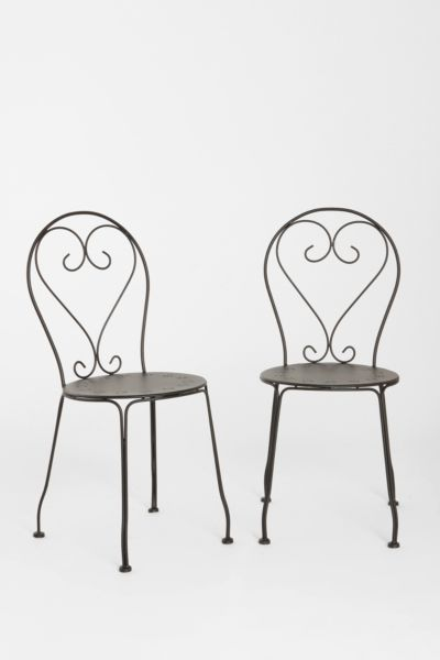 Cafe Chair - Set of 2