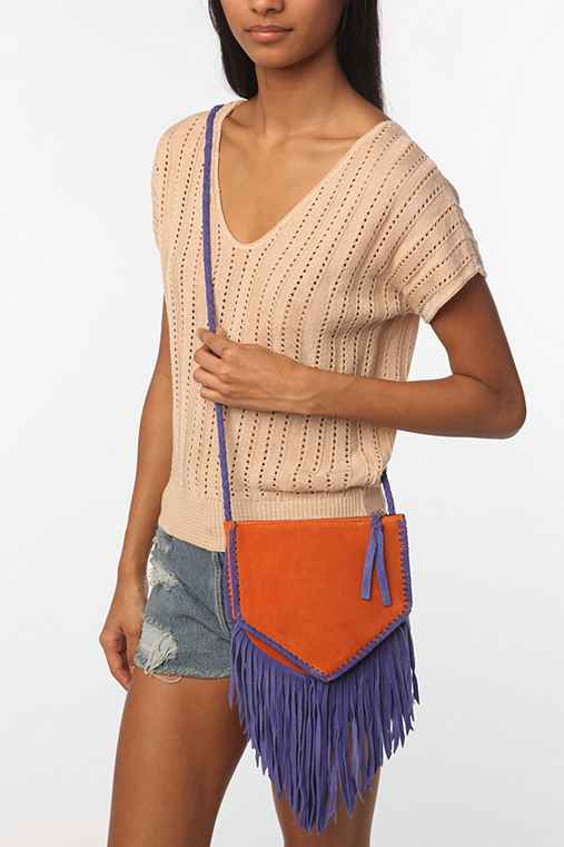 Jeffrey Campbell Fringe Crossbody Bag