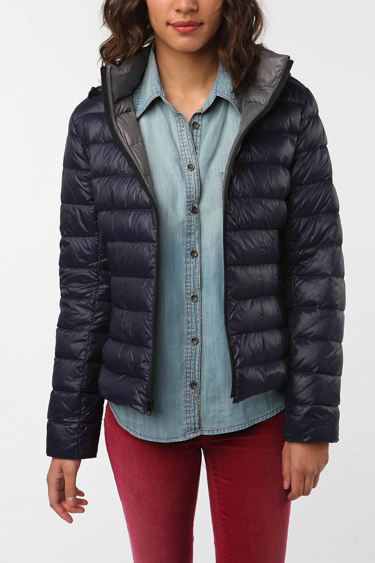 Lightweight Hooded Down Puffer Jacket Urban Outfitters