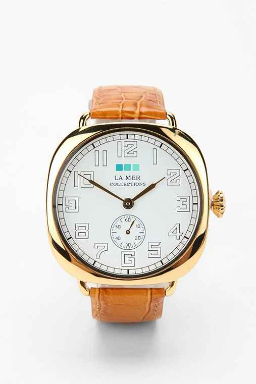 La Mer Oversized Vintage Watch