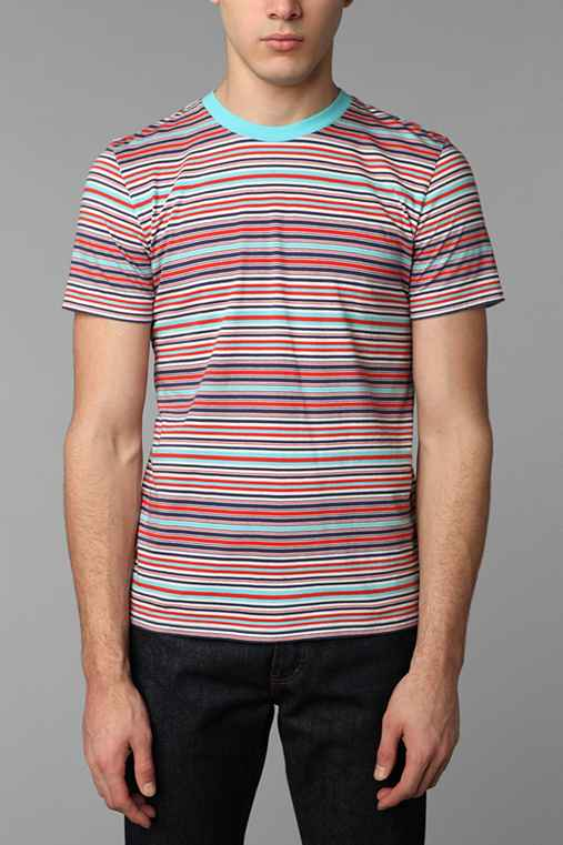 BDG Pin Bar Stripe Shirt