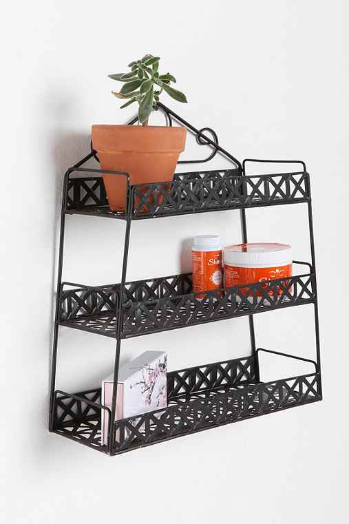 Basketweave Shelf