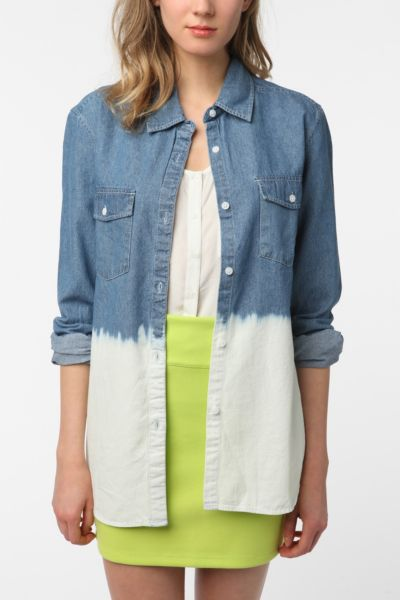 byCORPUS Chambray Button-Down Shirt
