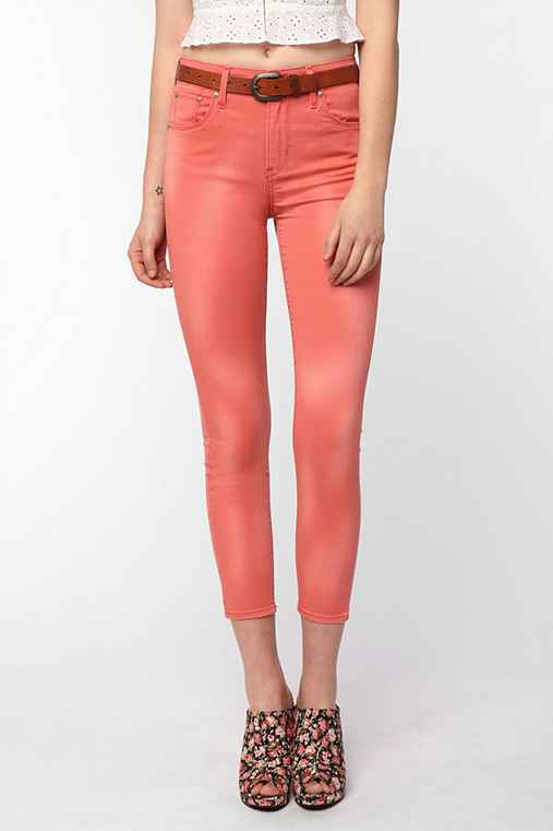 Levi's High-Rise Skinny Ankle Jean - Coral