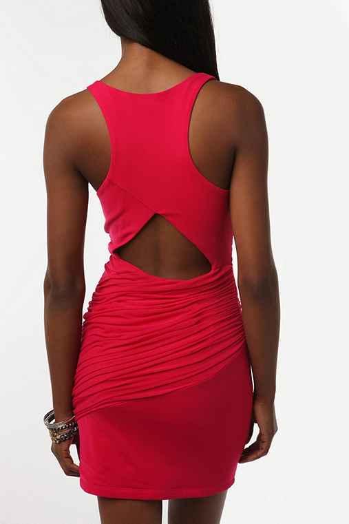 UrbanOutfitters.com > Silence & Noise Knit Mesh Bandage Dress