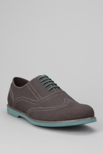 Hawkings McGill Canvas Brogue Shoe