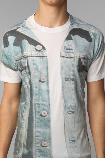 Fun Artists Denim Vest Tee