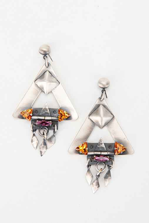 Merle O'Grady Hinged-Triangle Earring