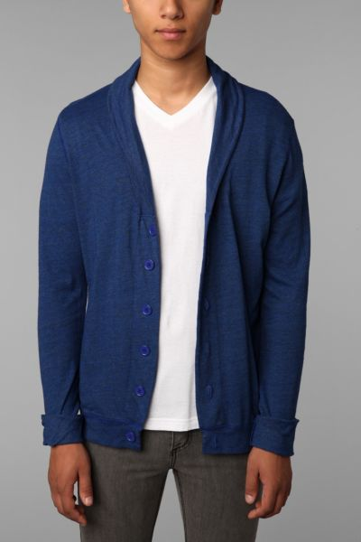 BDG Solid Knit Shawl Cardigan