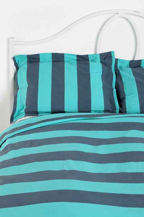 Coney Island Stripe Sham - Set of 2