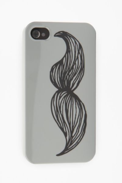Fun Stuff Mustache iPhone 4/4s Case