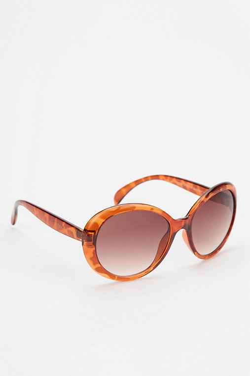 Betsey Johnson Round Sunglasses