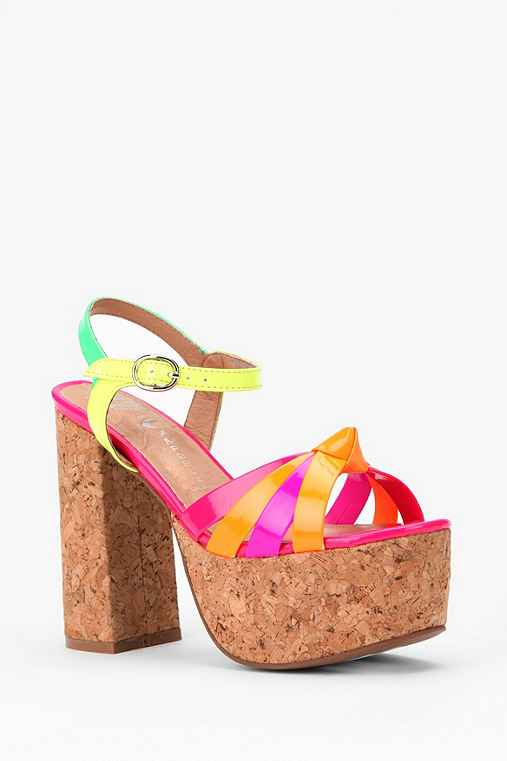 Jeffrey Campbell Happy Cork Heel