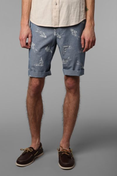 CPO Chambray Shark Short