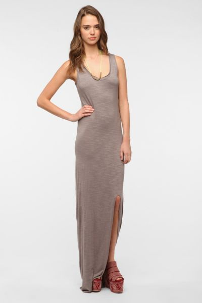 Go Make Noise Slub Knit Maxi Dress