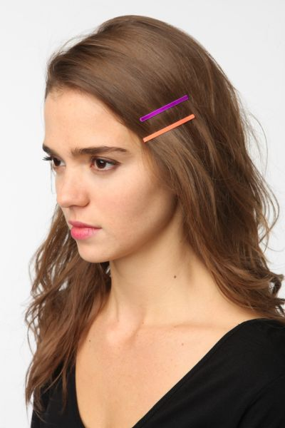 Neon Bobby Pins - Set of 12