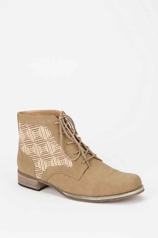 Ecote Sonora Woven Lace-Up Boot