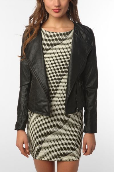 Jack By BB Dakota Hyde Faux Leather Jacket