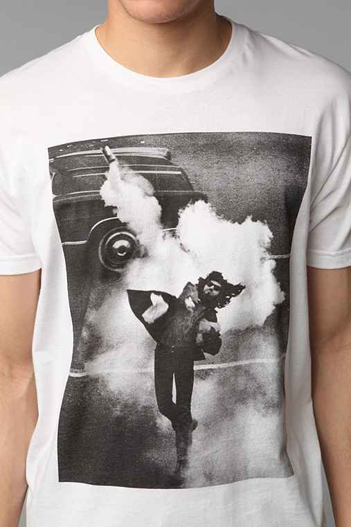 FUN Artists Tear Gas Throw Tee