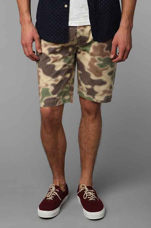 Wood Wood Peck Valley Camo Short