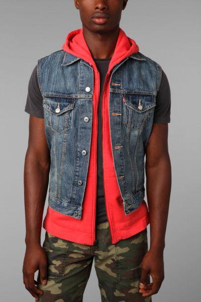 Levi's Ghost Trucker Vest