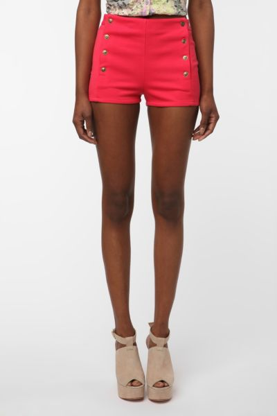 Lucca Couture Ponte Knit Sailor Short